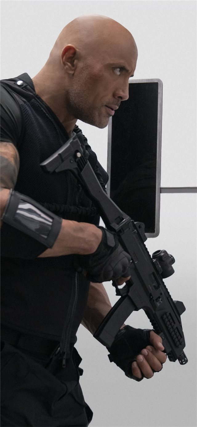 hobbs and shaw 8k 2019 iPhone X wallpaper