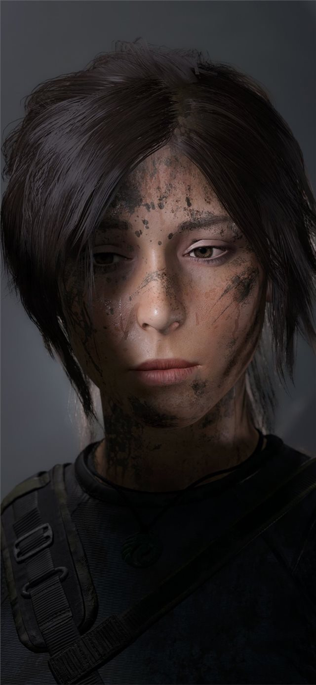lara croft losted iPhone X wallpaper