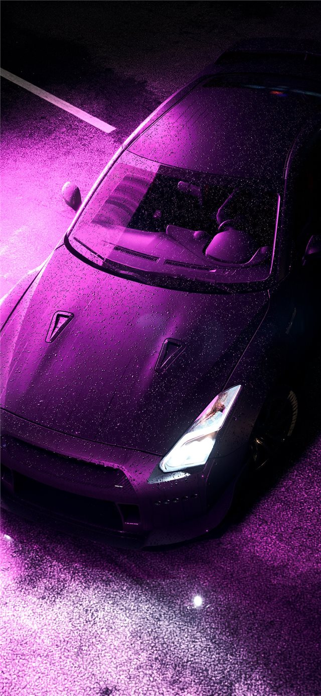need for speed nissan gtr 8k iPhone X wallpaper