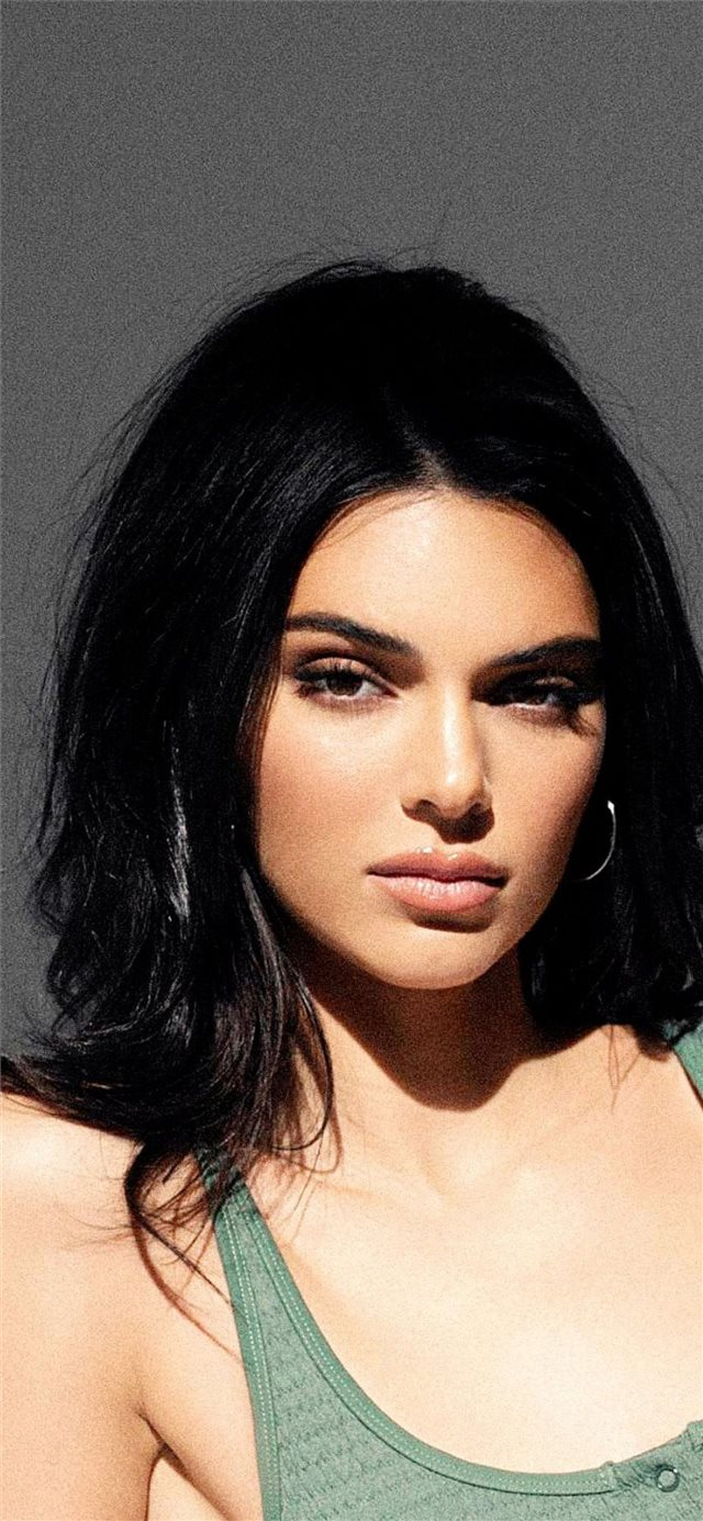new 2019 kendall jenner iPhone X wallpaper