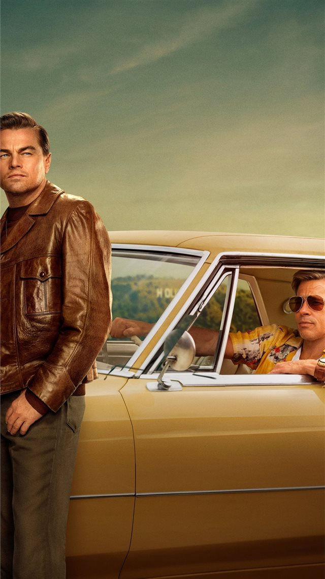 once upon a time in hollywood 2019 4k iPhone 8 wallpaper