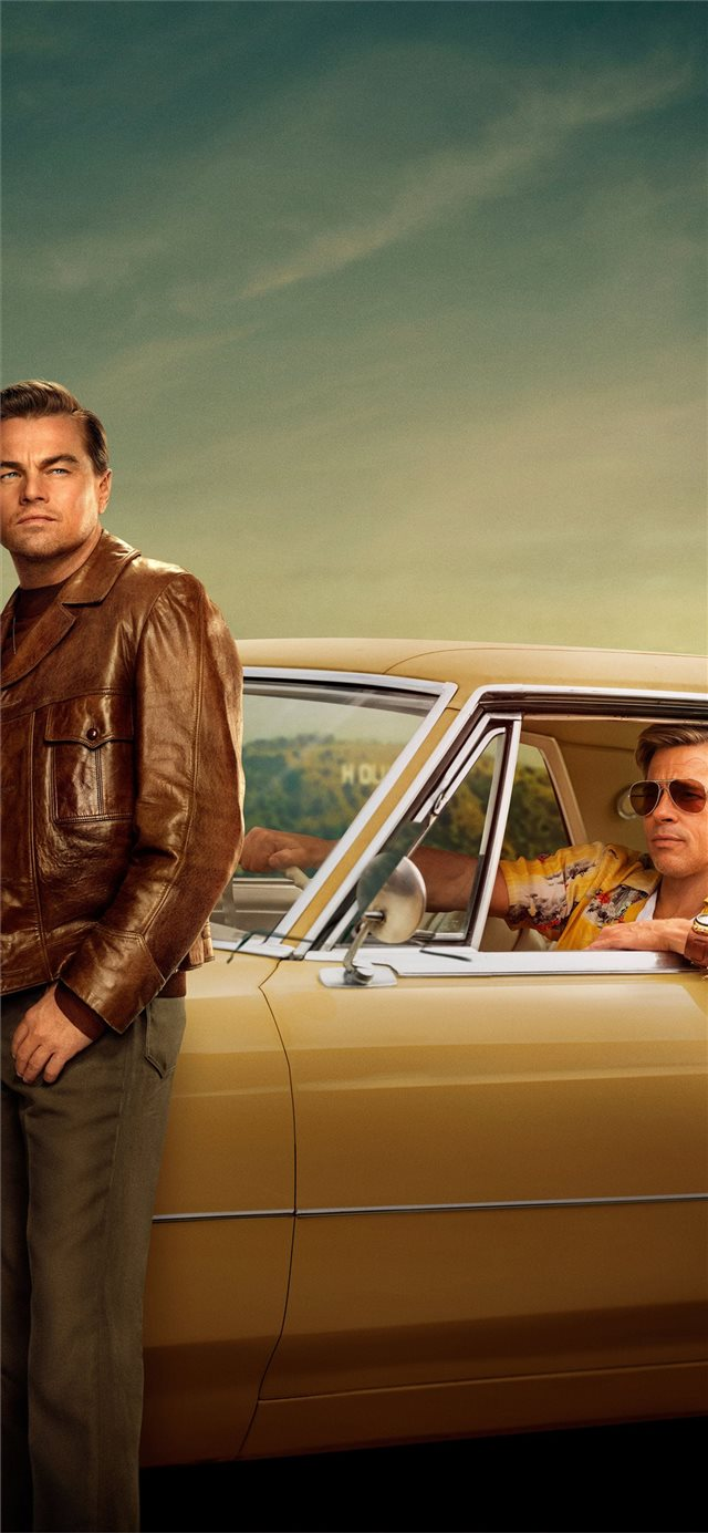 once upon a time in hollywood 2019 4k iPhone X wallpaper