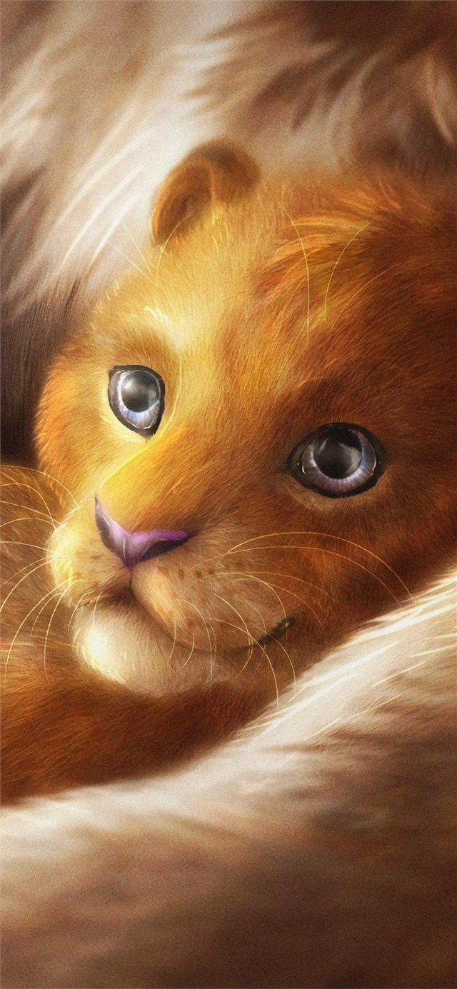 simba 2019 4k iPhone X wallpaper