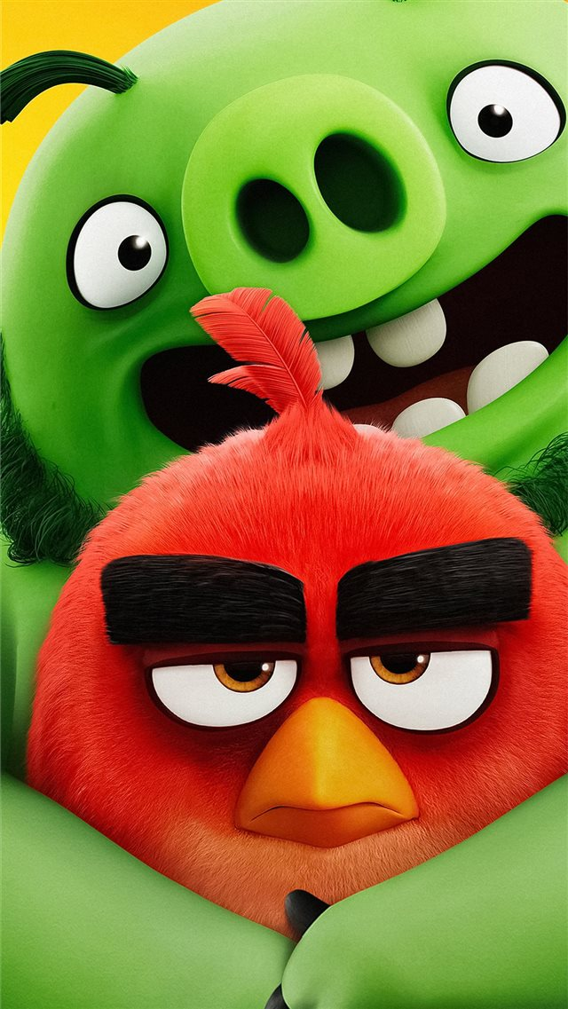 the angry birds movie 2 2019 5k new iPhone 8 wallpaper