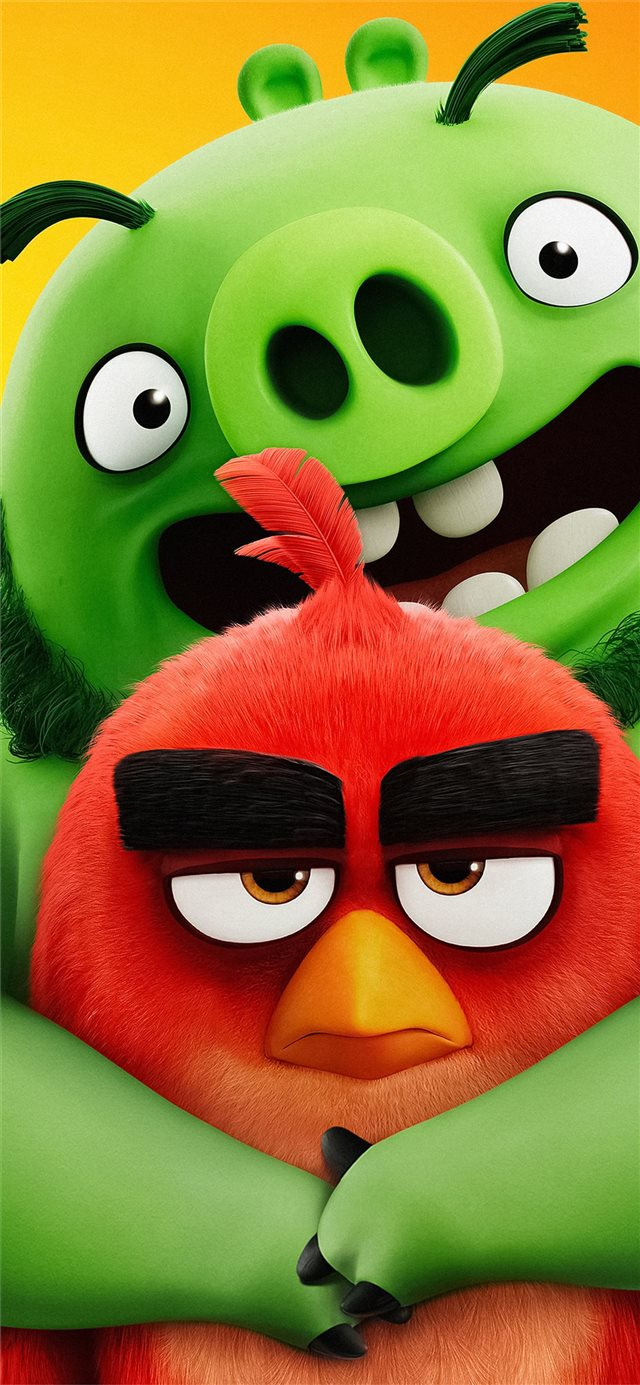 the angry birds movie 2 2019 5k new iPhone X wallpaper