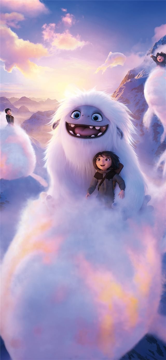 2019 abominable movie 8k iPhone 11 wallpaper