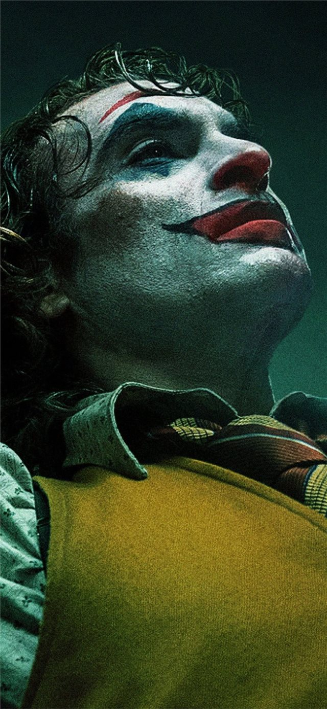 2019 joker joaquin phoenix iPhone X wallpaper