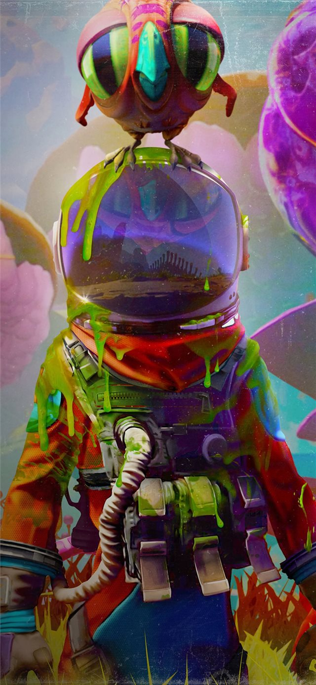 2019 journey to the savage planet iPhone 11 wallpaper