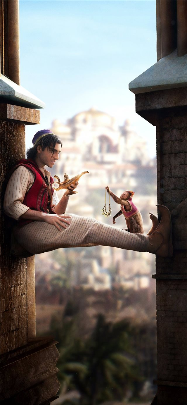 aladdin movie 2019 iPhone 11 wallpaper