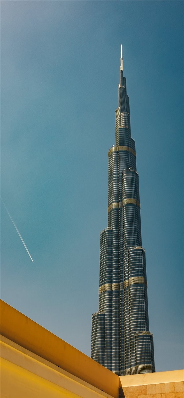 Burj Khalifa Dubai iPhone 11 wallpaper