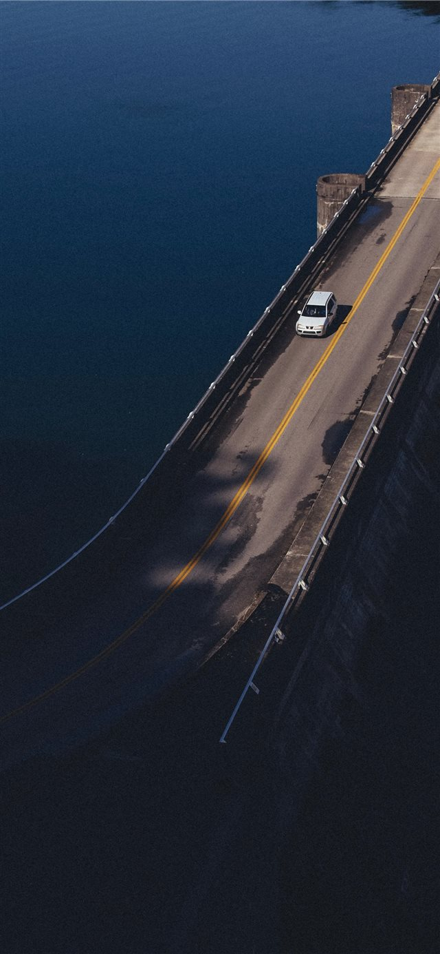 car on car iPhone X wallpaper