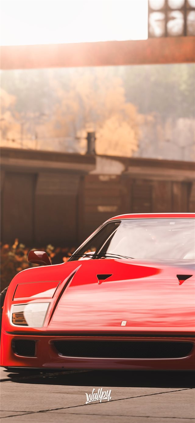 forza horizon 4 ferrari 5k iPhone 11 wallpaper