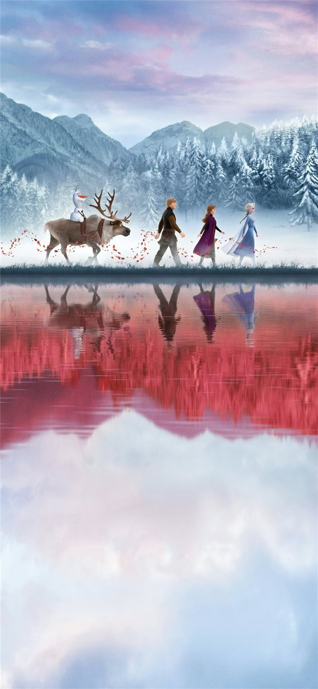 frozen 2 2019 4k iPhone X wallpaper