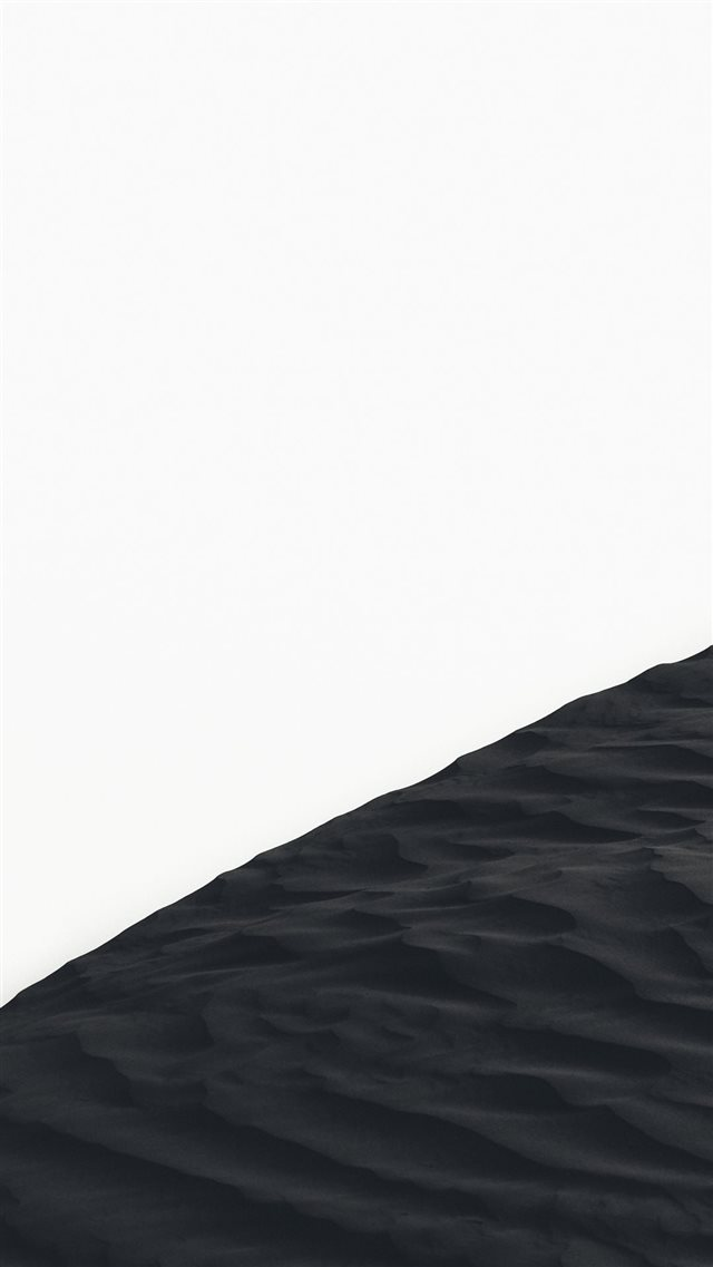 grayscale photo of sand dunes iPhone SE wallpaper