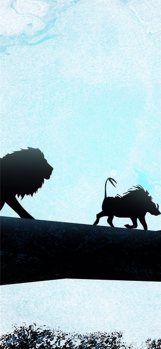 hakuna matata 4k iPhone 11 wallpaper