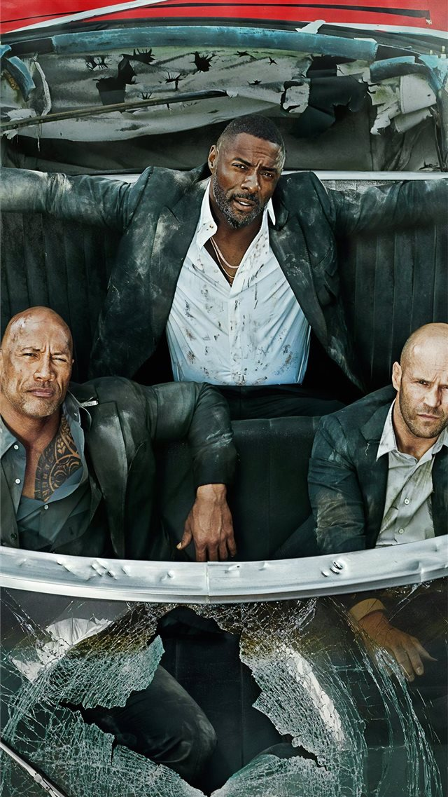 hobbs and shaw 4k 2019 entertainment weekly iPhone 8 wallpaper