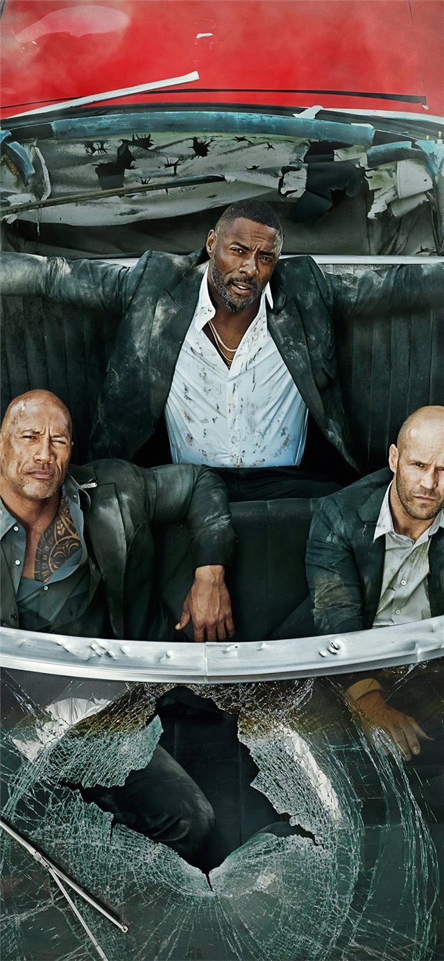 hobbs and shaw 4k 2019 entertainment weekly iPhone X wallpaper