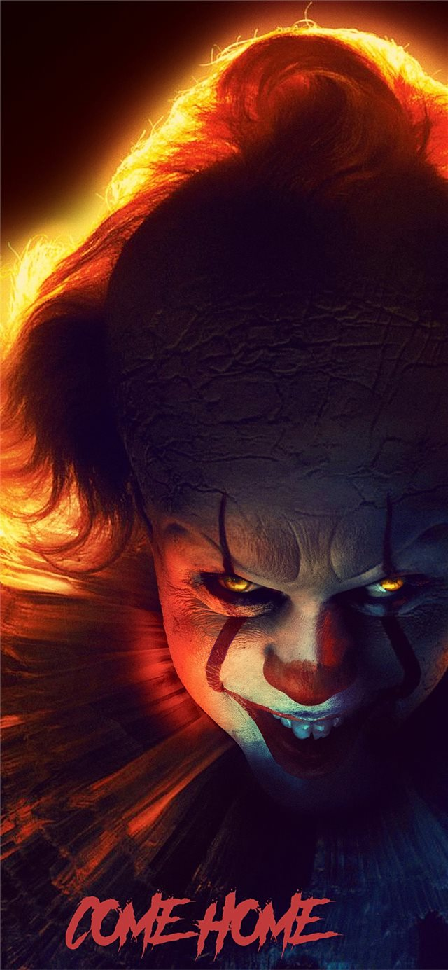 it chapter two 2019 4k pennywise iPhone 11 wallpaper