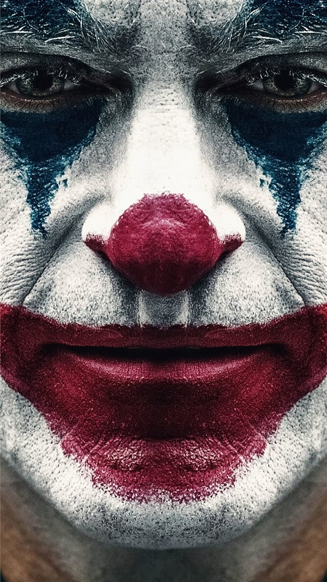 joker 2019 joaquin phoenix clown iPhone 8 wallpaper