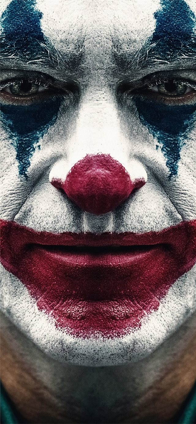 joker 2019 joaquin phoenix clown iPhone X wallpaper