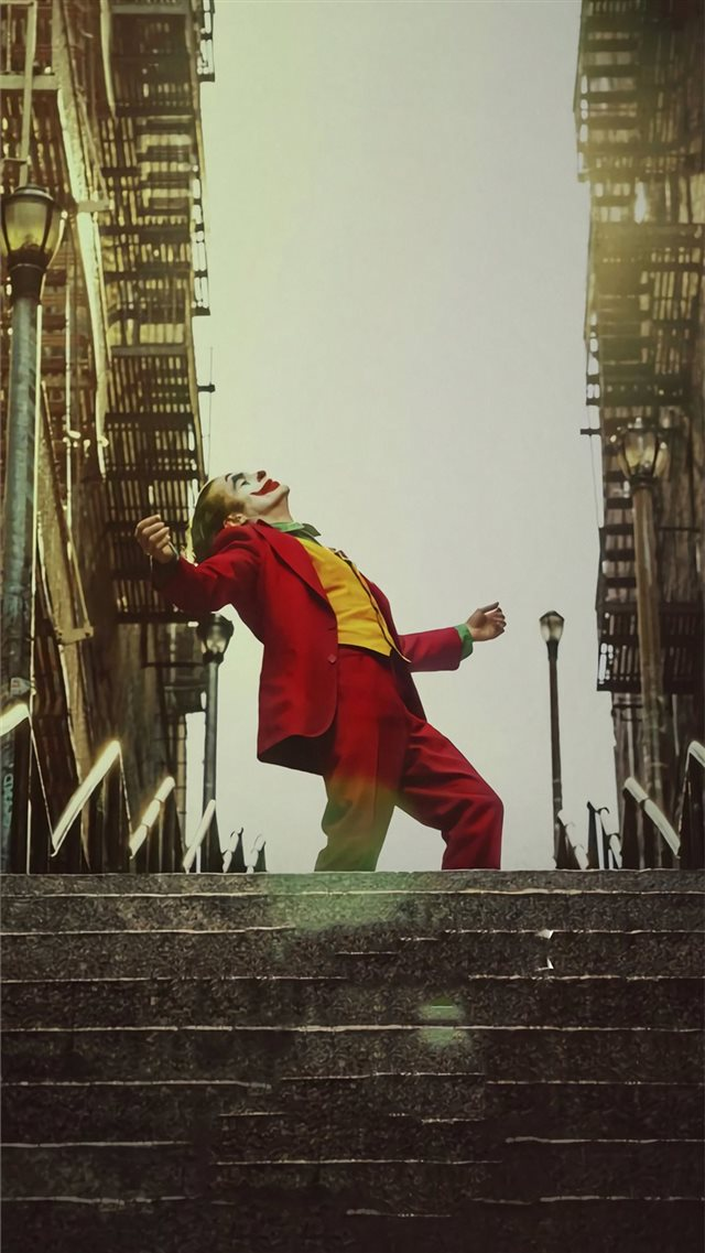 joker movie 2019 poster iPhone 8 wallpaper