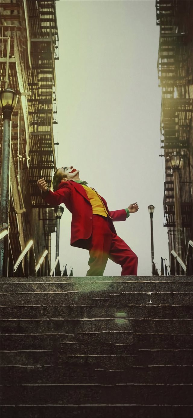 joker movie 2019 poster iPhone X wallpaper