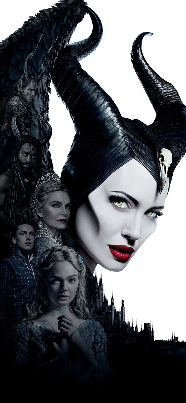 maleficent mistress of evil 5k iPhone 11 wallpaper