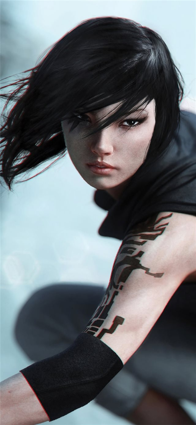 mirrors edge catalyst video game 4k iPhone 11 wallpaper