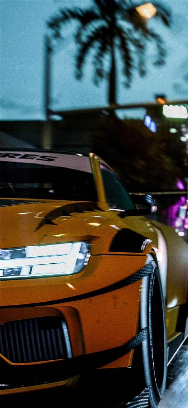 need for speed heat 5k iPhone 11 wallpaper