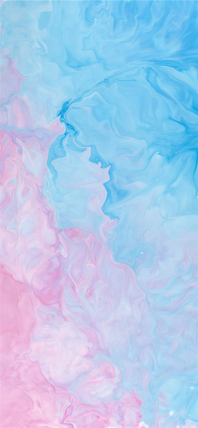 pink and blue abstract painting iPhone 11 wallpaper