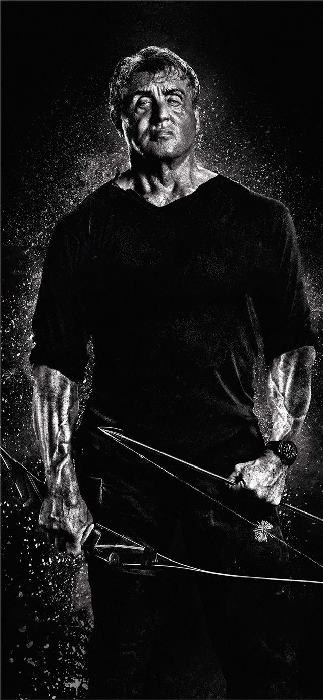 rambo v the last blood movie 4k 2019 iPhone X wallpaper