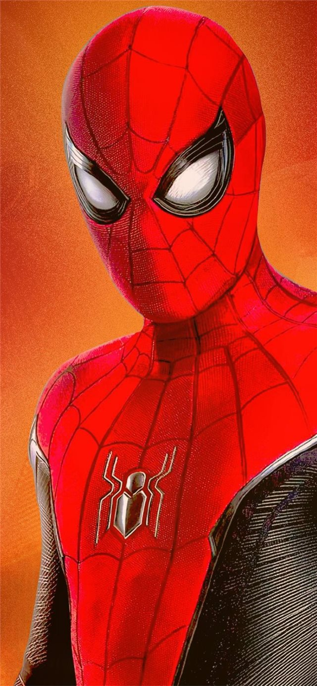 spiderman far from home imax poster iPhone 11 wallpaper