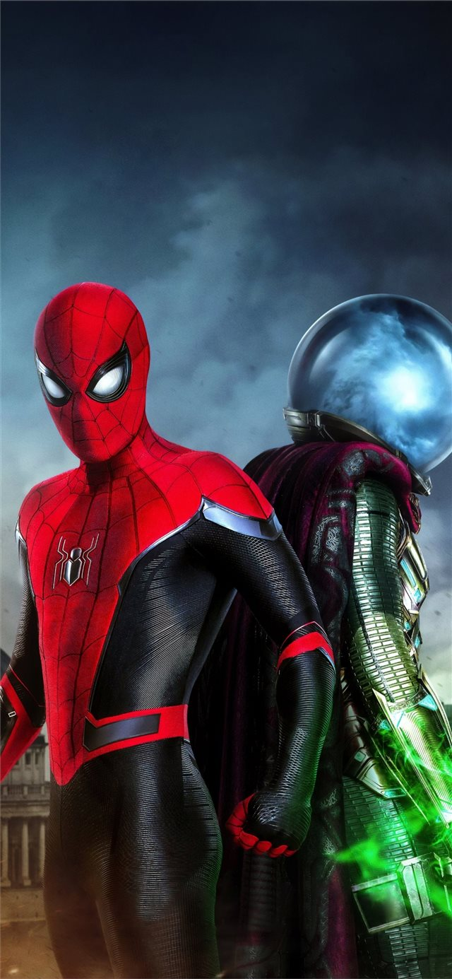 spiderman far from home movie 4k iPhone 11 wallpaper