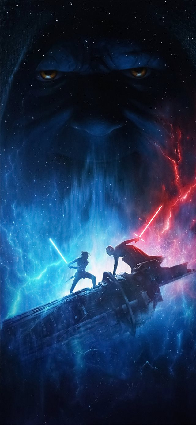 star wars the rise of skywalker 2019 4k iPhone X wallpaper
