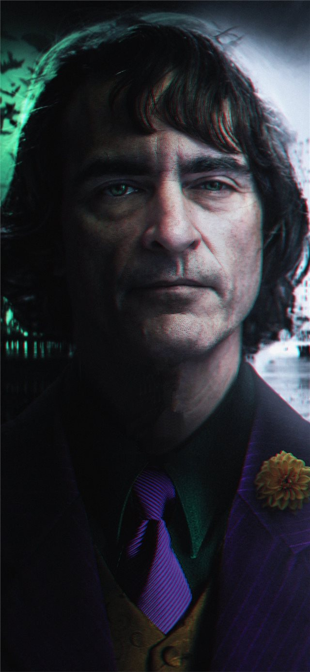 the joker joaquin phoenix 4k iPhone X wallpaper