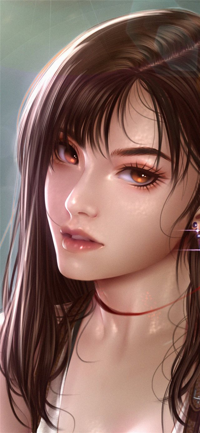 tifa lockhart finalfantasy iPhone 11 wallpaper