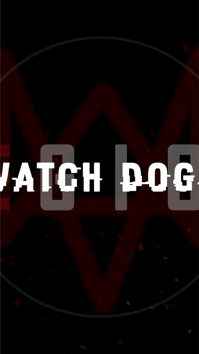 watch dogs legion logo 5k iPhone SE wallpaper
