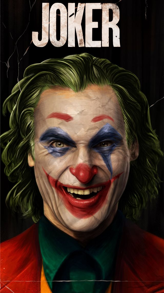 5k joker joaquin phoenix 2019 iPhone 8 wallpaper