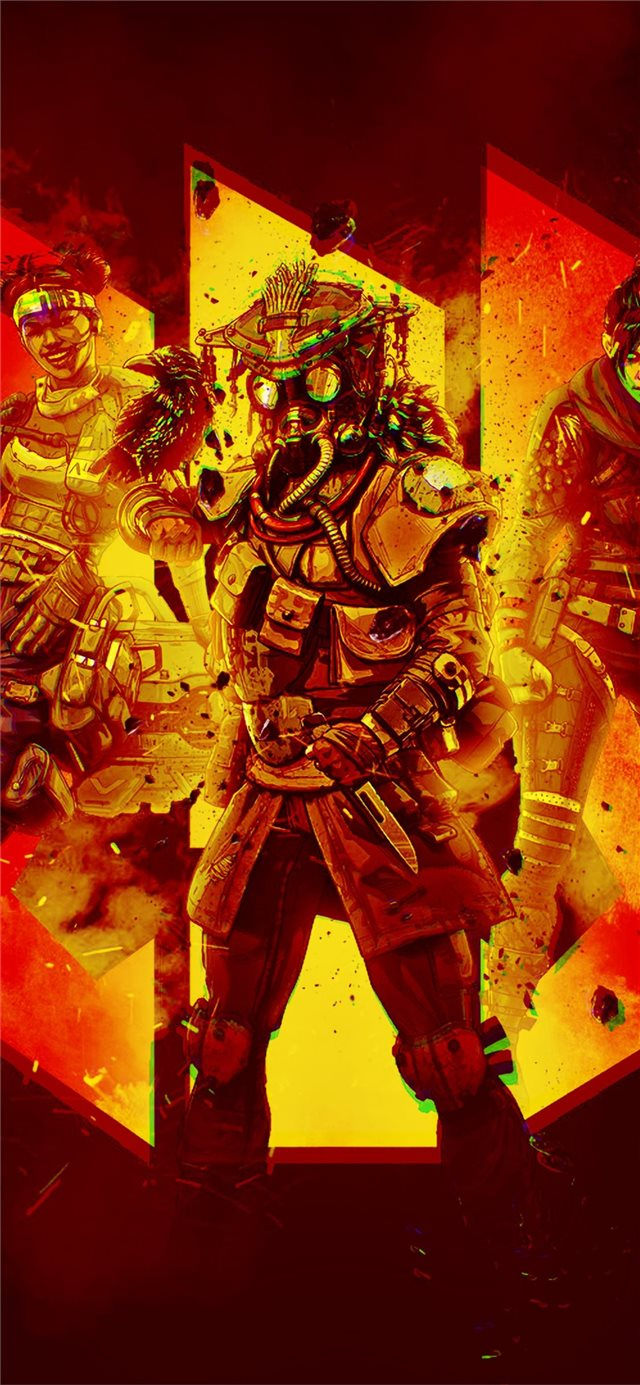 apex legends 4k iPhone X wallpaper