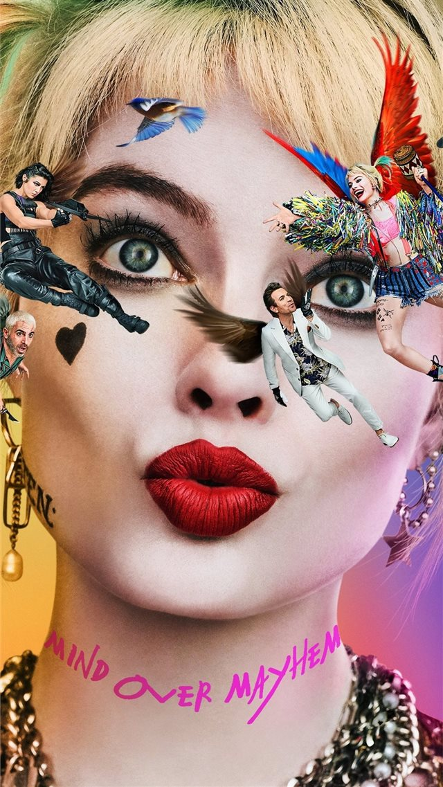 birds of prey 2020 movie 4k iPhone SE wallpaper