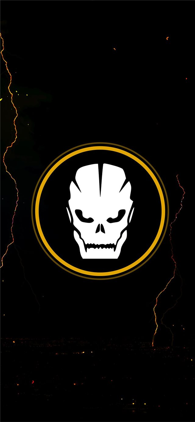 call of duty black ops 4 minimal 5k iPhone X wallpaper