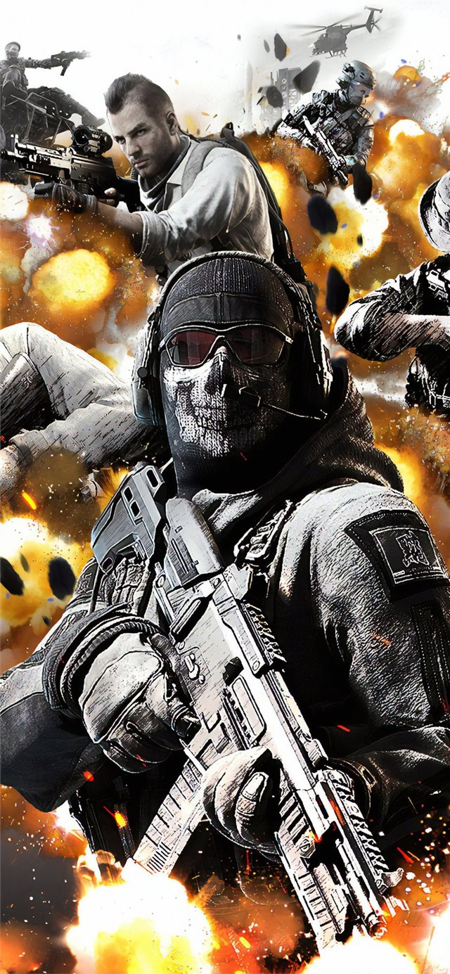 call of duty mobile 4k iPhone 11 wallpaper
