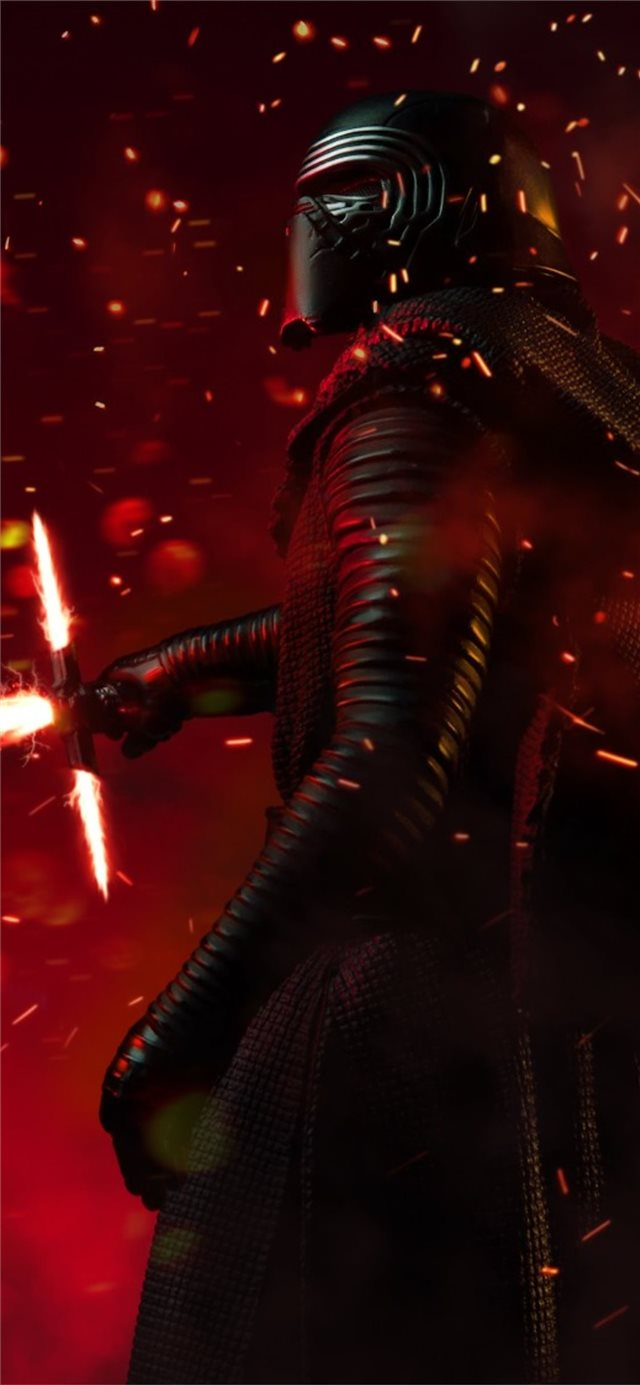 cgi kylo ren new iPhone 11 wallpaper