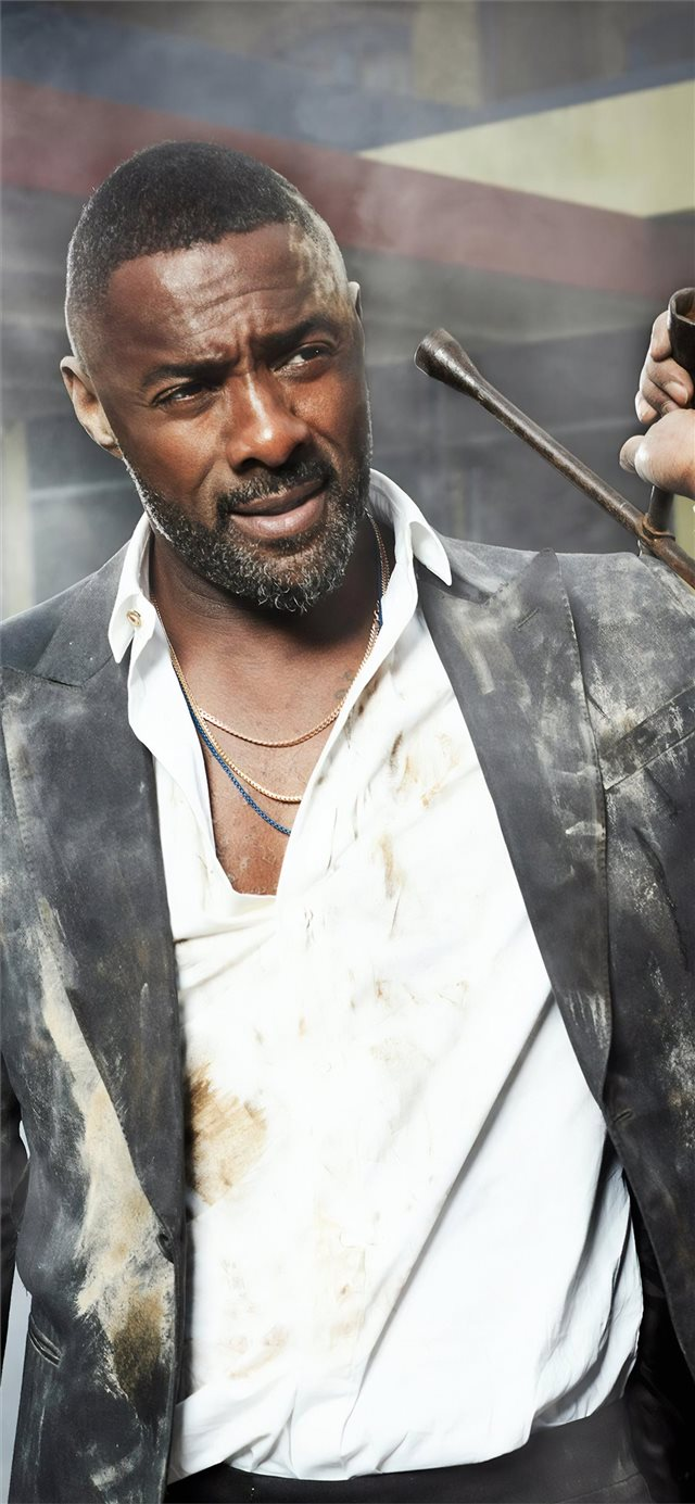 hobbs and shaw idris elba iPhone X wallpaper