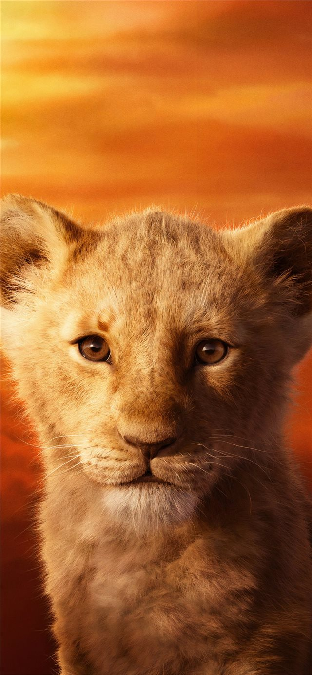 jd mccrary as simba the lion king 2019 4k iPhone X wallpaper