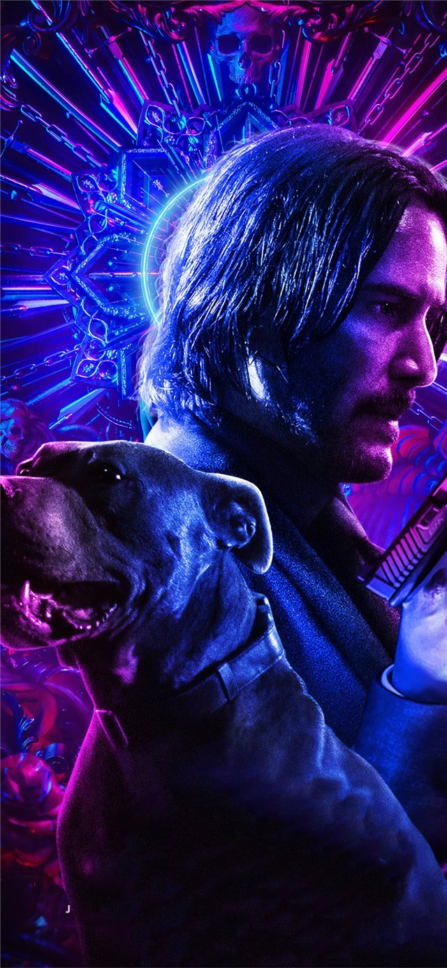 john wick chapter 3 parabellum 2019 iPhone 11 wallpaper