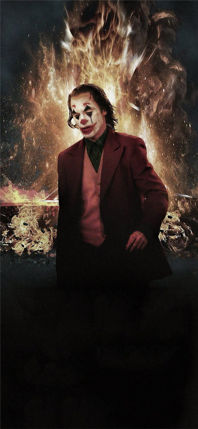 joker 2019 movie 4k new iPhone X wallpaper