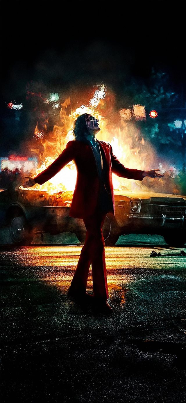 joker imax poster iPhone 11 wallpaper