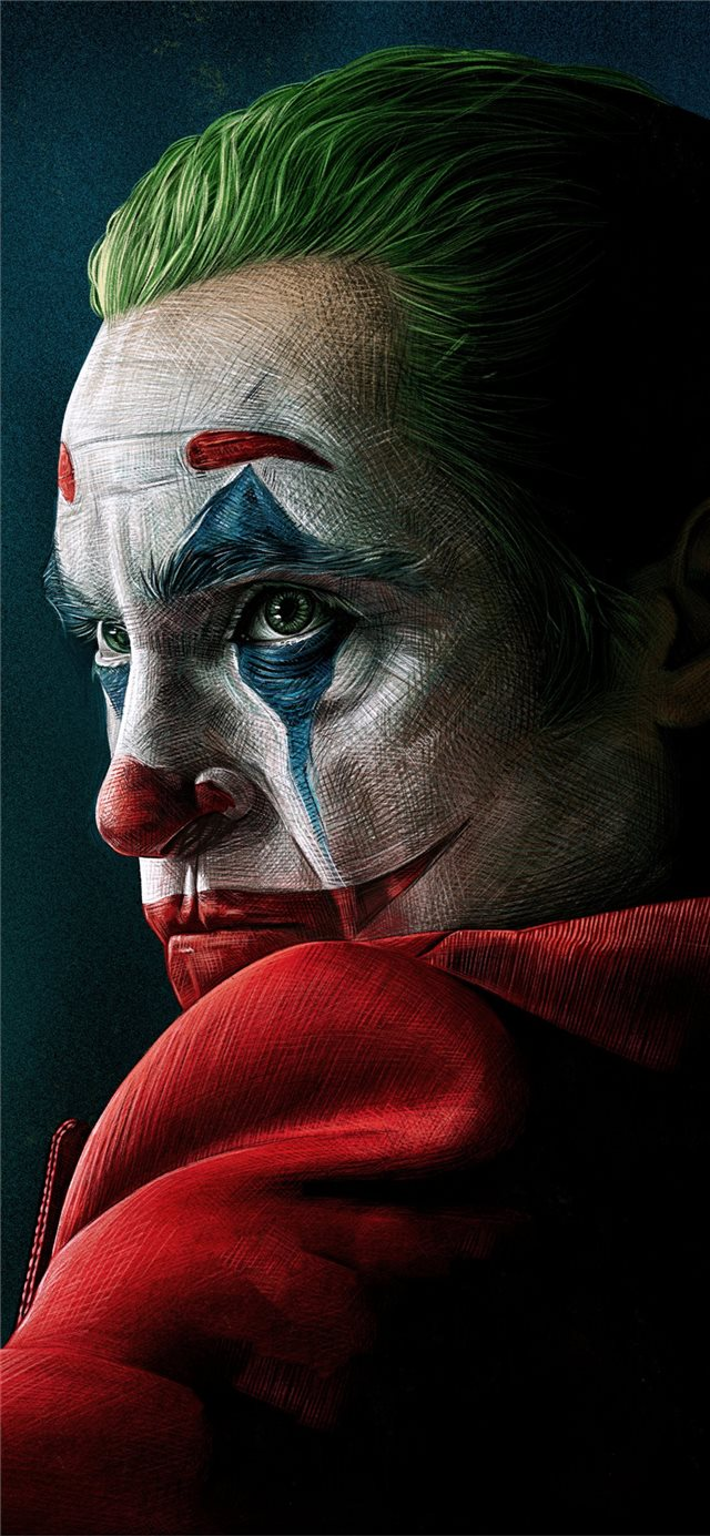 joker movie 4k artwork iPhone 11 wallpaper