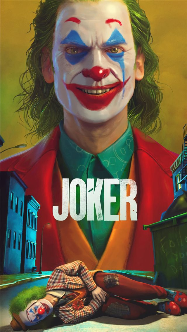 joker movie4k art iPhone SE wallpaper